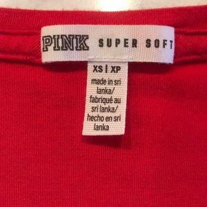 PINK Victoria's Secret Tops - Victoria Secret PINK V Neck T Size XS